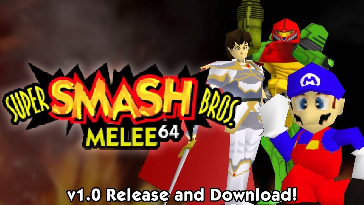 Excellent Mod Gives Super Smash Bros  Melee A Nintendo 64