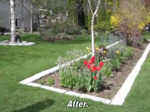 DIY Garden Edging Casting Project YouTube - Diy concrete garden edging