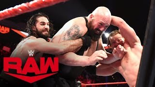 Download Big Show, Kevin Owens & Samoa Joe vs. Seth Rollins & AOP – Fist Fight: Raw, Jan. 13, 2020 Mp3 and Videos
