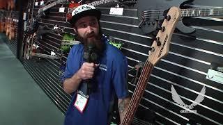 NAMM 2018 Dean Guitars-Jon Lawhon Black Stone Cherry Signature Bass