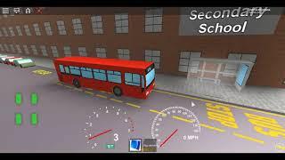 Roblox Londra Hackney & Limehouse bus Simulator ELC stima Dart Dual SLN sulla D3 ~ deviato