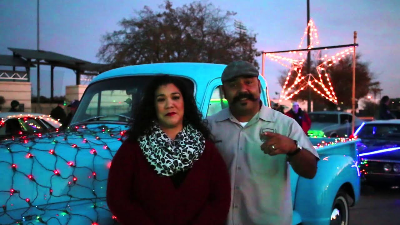 2015 Fort Worth Classics Christmas Car Cruise and Toy Drive - YouTube