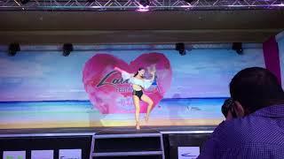 Lynn Moussalli - Solo Salsa Performance - Lebanon Latin Festival
