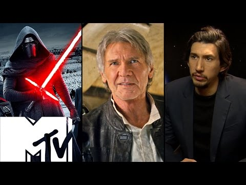 Star Wars: The Force Awakens Han Solo Kylo Ren Scene: Behind the Scenes | MTV