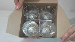 Набор стаканов высоких 360мл Eclat Facettes - обзор