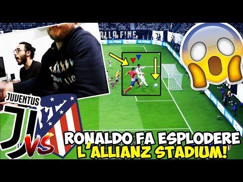 RONALDO FA ESPLODERE L'ALLIANZ STADIUM!!! JUVENTUS-ATLETICO MADRID [FIFA 19]