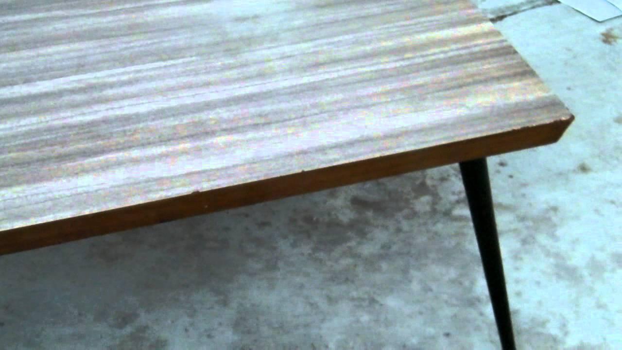 Vintage Retro Mid Century Danish Modern Coffee Table