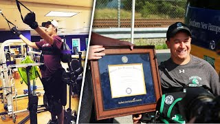 Student Paralyzed in Diving Accident Surprised With Graduation Party