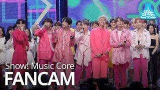 예능연구소 직캠 BTS - Boy With Luv, 방탄소년단 - 작은 것들을 위한 시 No.1 encore ver. @Show Music Core 20190427