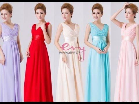 Top 100 Mẫu áo đầm dạ hội đẹp sang trọng cho các bạn gái thêm nổi bật trong tiệc