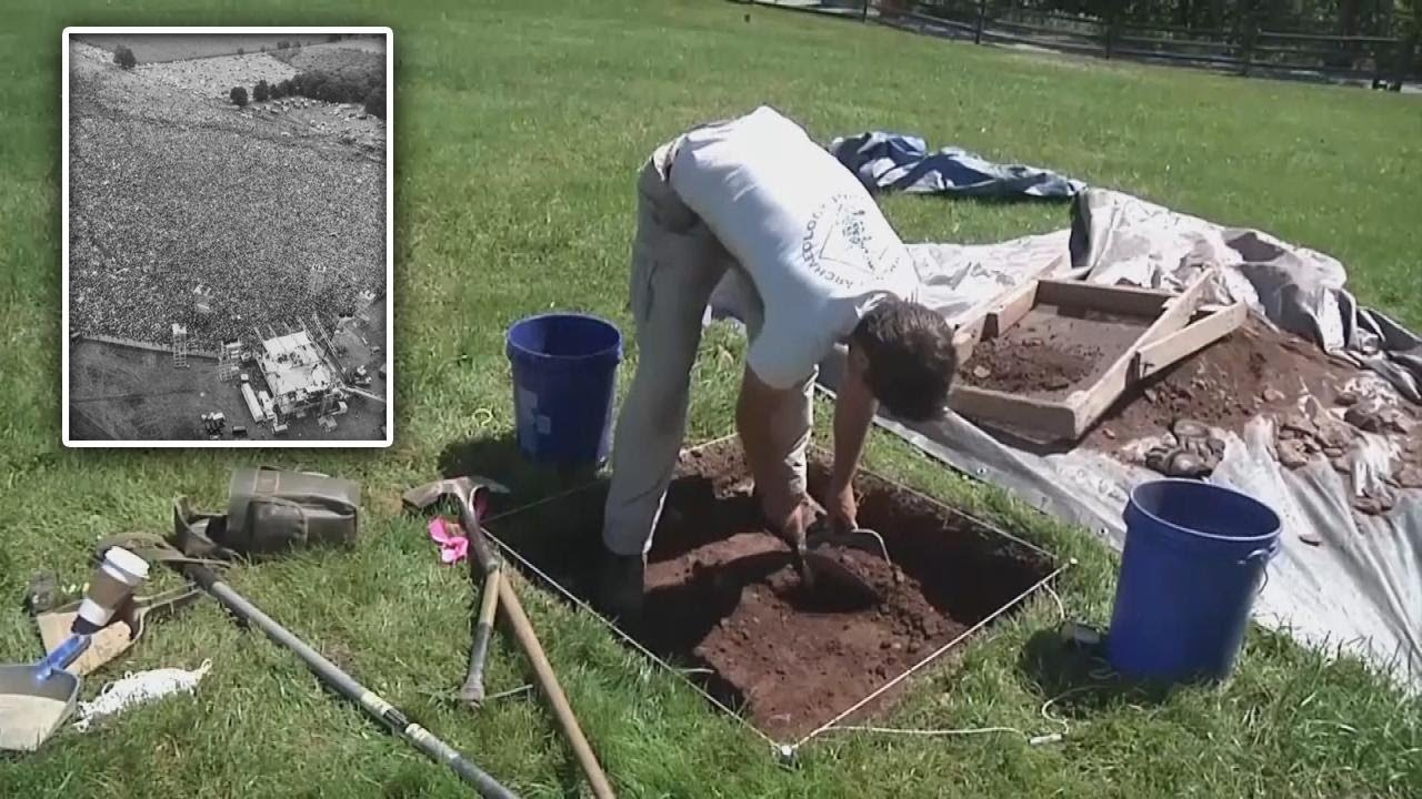 Archaeologists Dig Up Woodstock Festival Site To Pinpoint Stage S Location