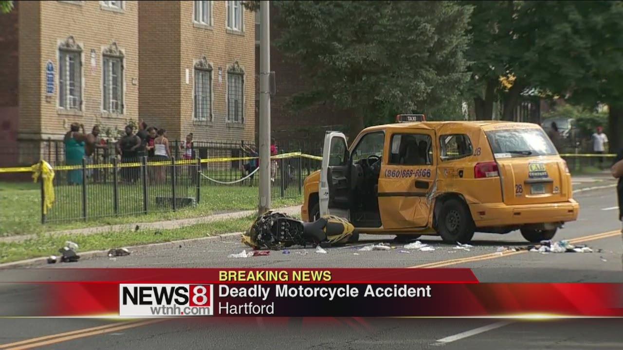 Motorcyclist killed in Hartford crash