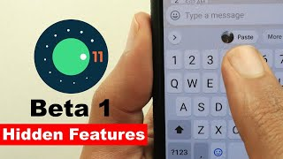 Android 11 Beta 1 - Hidden Features & Changes - Tips & Tricks