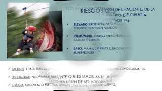 RIESGOS QUIRURGICOS Y PREPRARACIÓN DEL PACIENTE