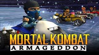"""MORTAL KOMBAT MARIO KART! - Mortal Kombat Armageddon: """"MOTOR KOMBAT"""" (Mortal Kombat 11 Kountdown)"""
