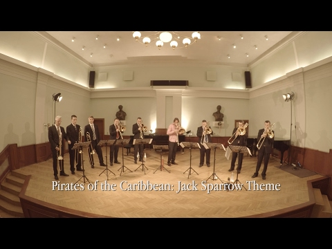 Pirates of the Caribbean: Jack Sparrow Theme - Szeged Trombone Ensemble