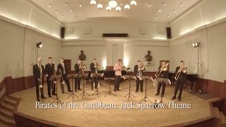 Pirates of the Caribbean: Jack Sparrow Theme - Szeged Trombone Ensemble