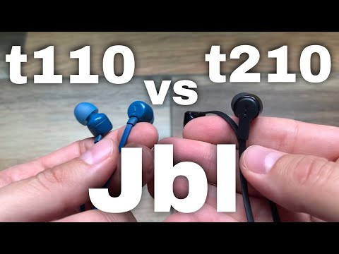 JBL TUNE 210 Review Español y COMPARATIVA JBL TUNE 110