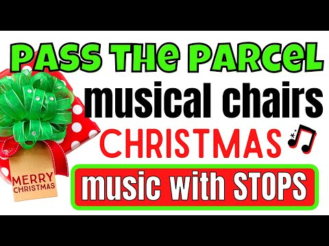 christmas-game-music-with-stops:-musical-chairs-&-pass-the-parcel