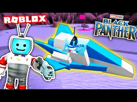 Black Panther MOON TYCOON (Roblox) ► Fandroid the Musical Robot! |