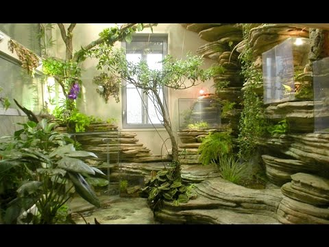 Cascade artificielle interieur avec les tapes de for Indoor nature design challenge