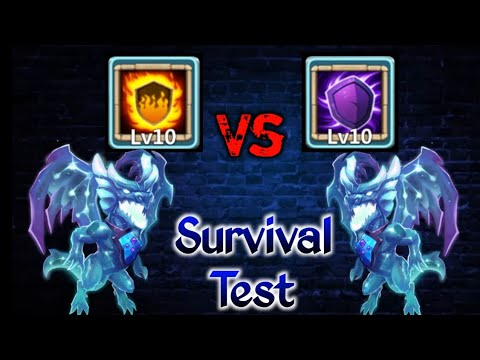 Lavanica | Silent Cover Vs Flame Guard  | 10/10 | 5 Different Defense | Pure Test | Castle Clash
