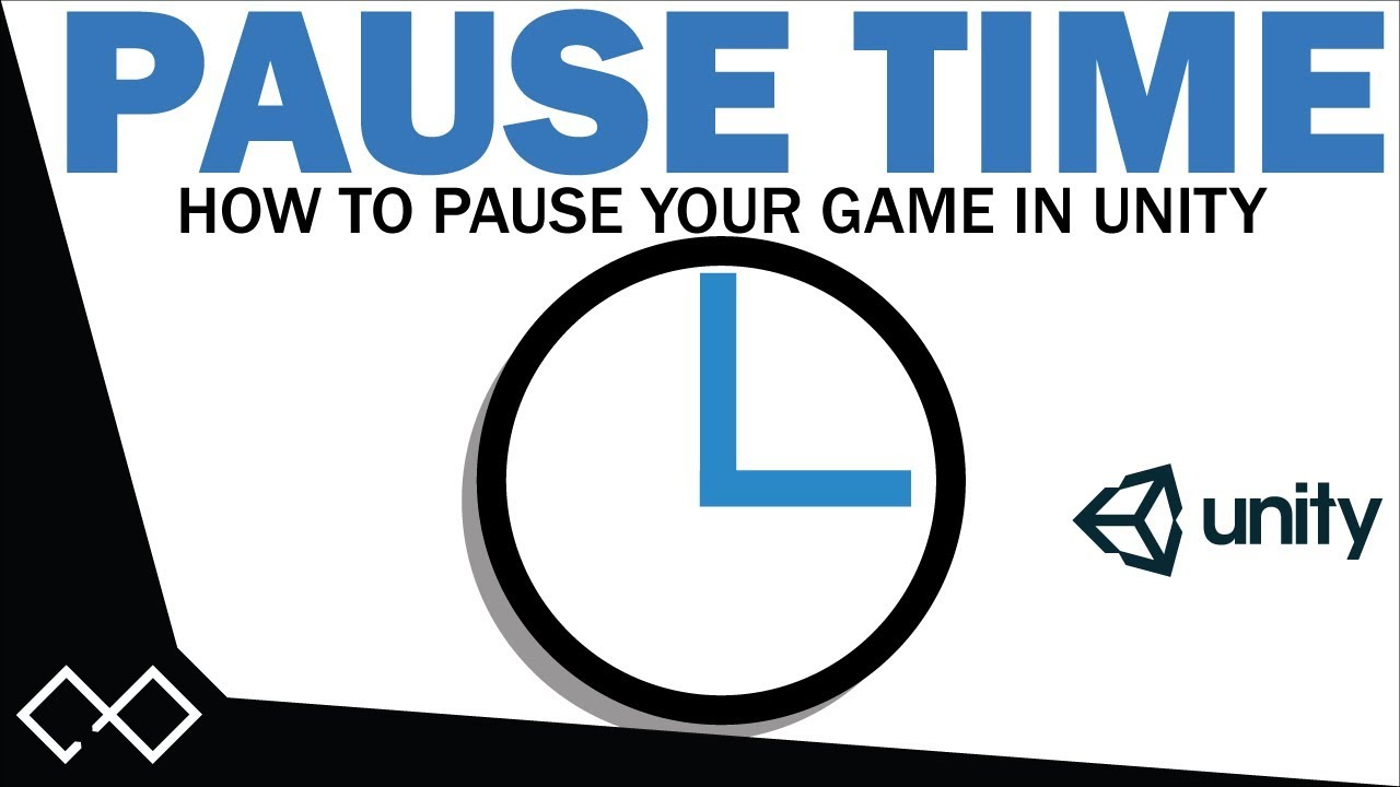How To Pause In Unity In 2 Minutes | Unity Pause Tutorial - Pause Time in  Unity 5