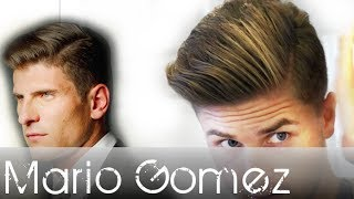 Mario Gomez hair tutorial - Men's fresh and classic footballer hair