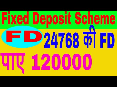 Fixed Deposit Scheme FD in Hindi || High Return