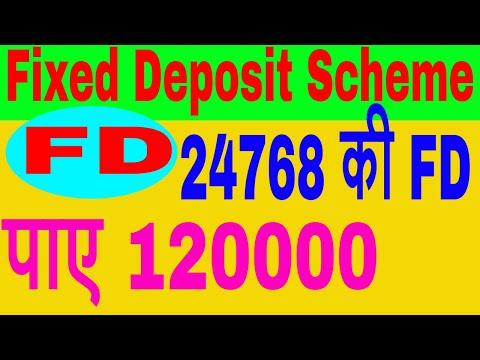 Fixed Deposit Scheme FD In Hindi || High Return