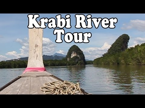 Krabi Thailand Tour: Krabi River Tour by Longtail Boat.