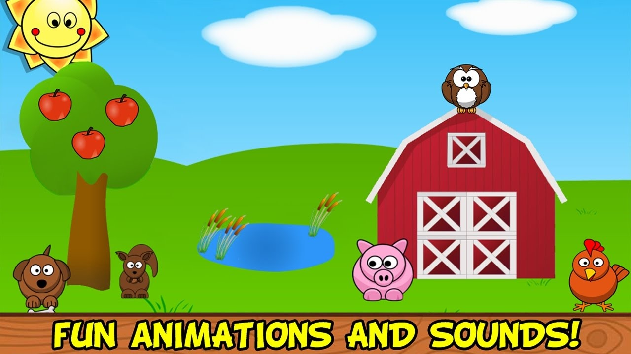 Barnyard Games For Kids 18 Month 2 Years Fun And