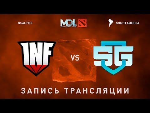 Infamous vs SG-eSports, MDL SA, game 1 [Lex, Autodestruction]
