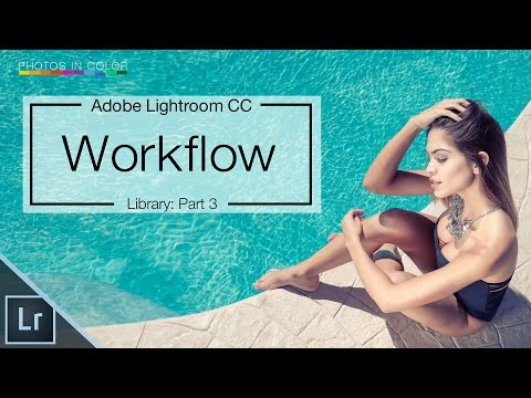Lightroom 6 / CC Tutorial - The BEST Workflow in Lightroom and Photoshop