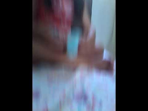 Eu com minha amiga louca brincando de slime