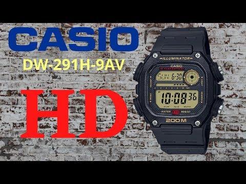 Relógio Casio DW-291H-9AV