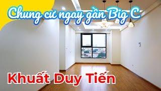 Căn hộ chung cư gần Big C Thăng Long: 3.6 tỷ - 3 ngủ - 113m2 (Vinata Tower 289 Khuất Duy Tiến)