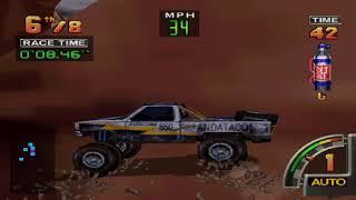 Off-Road Challenge (N64) Very hard tournament speedrun