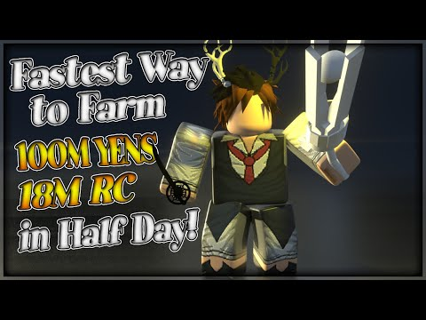 Ro Ghoul | Fastest Way To Farm 100m YEN & 18M RC In A Half Day