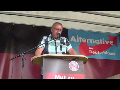 AfD Demo in Paderborn am 13.05.2016