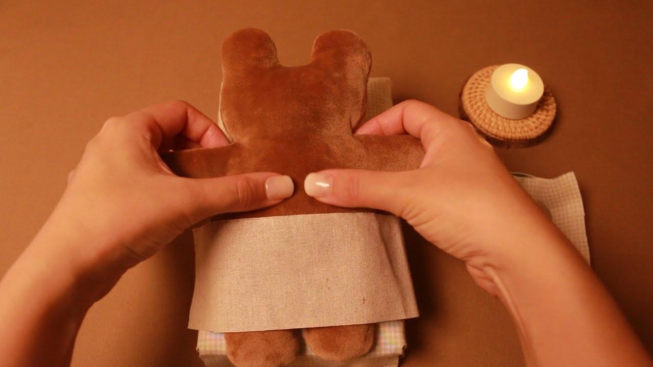 ASMR 편안한 바스락 마사지샵 🐻🐰✨ 스톤 마사지 Crunchy Massage Shop Stone massageかりっとしたマッサージ店 / 石マッサージ Eng sub 日本語字幕