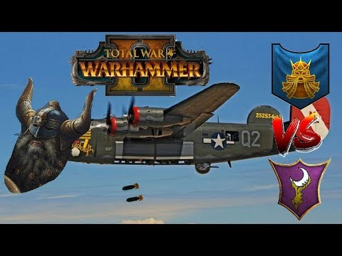 Dwarfs vs Dark Elves | GYRO TIME - Total War Warhammer 2