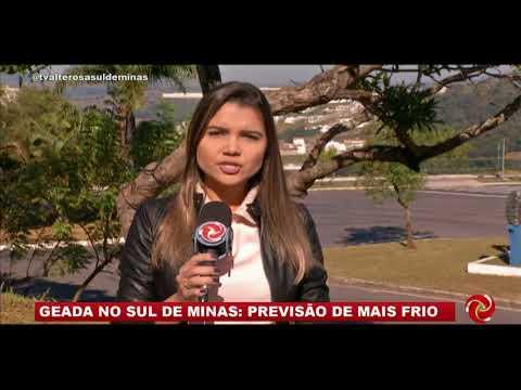 Frio no Sul de Minas: geada é registrada em algumas cidades