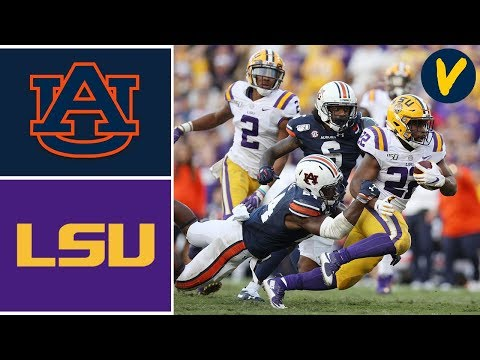 #9 Auburn vs #2 LSU Highlights | Week 9 | College Football Highlights