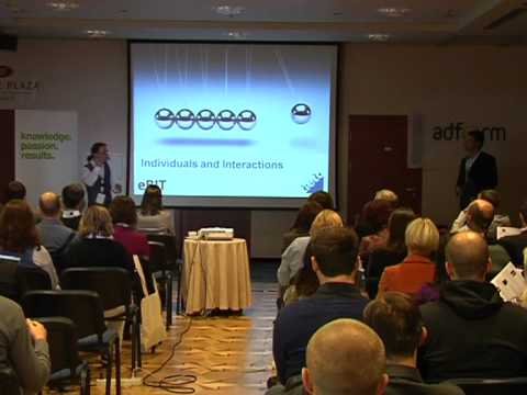 AgileTuras2011. V.Jakovels & A.Baranovskis. Successful collaboration in Agile projects