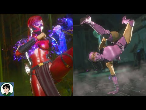 """Mortal Kombat 11 - All Characters Performs Jacqui's """"Floor It"""" Victory  """