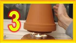 3 Gründe warum besser jeder eine Teelicht Ofen Kerzen Heizung zu Hause haben sollte ! Candle Heater