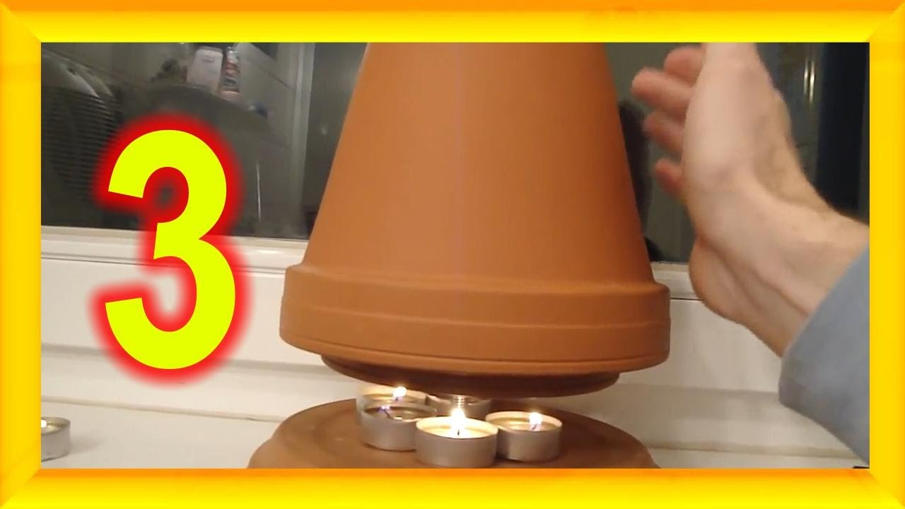 3 Gründe warum besser jeder eine Teelicht Ofen Kerzen Heizung zu ...