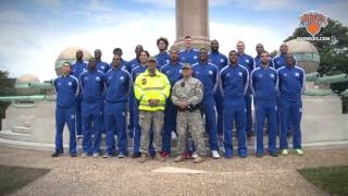 all access behind the scenes with knicks at west point