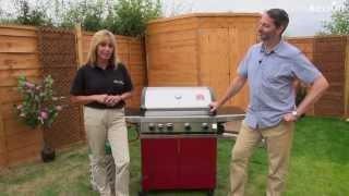 Prestige Gourmet 4 Burner Hooded Gas BBQ Inc Grillstream Technology